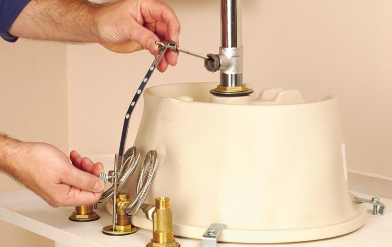 Install Faucets, Sinks, Water Taps_3